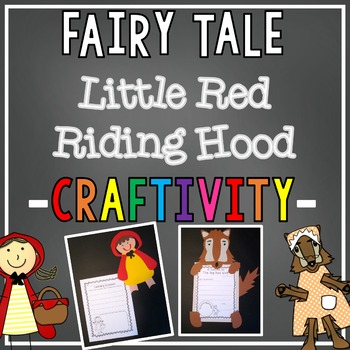 Over the River & Through the Woods {Little Red Riding Hood