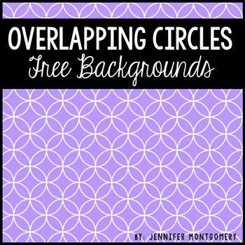 Overlapping Circles Background