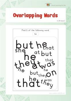 Overlapping Words (Kindergarten)