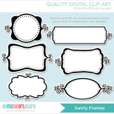 Frames - Swirly Whirly / Curly Frames
