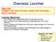 Overseas Location - International Trade - Growing as a Bus