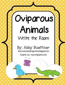 Oviparous Animals Animals that Hatch Write the Room II