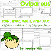 Oviparous: Read, Trace, Glue, and Draw