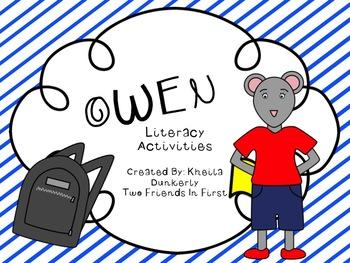 Owen Literacy Activities