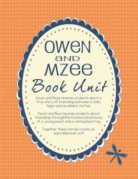 Owen and Mzee Book Unit