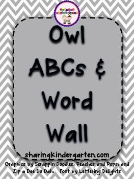 Owl ABCs and Word Wall
