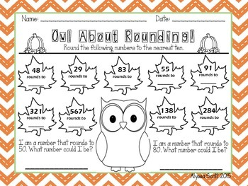 Owl About Rounding!
