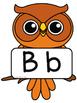 Owl Alphabet Signs