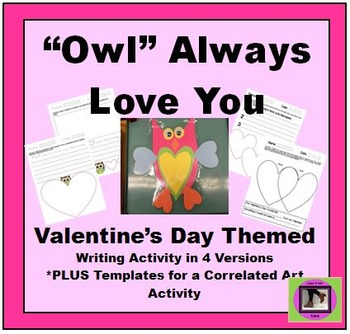 Owl Always Love You writing and craft
