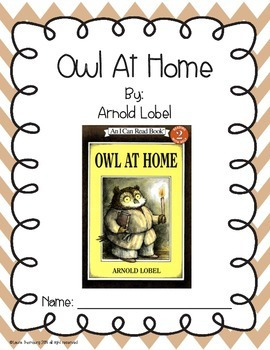 Owl At Home Book Guide