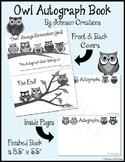 Owl Autograph Books