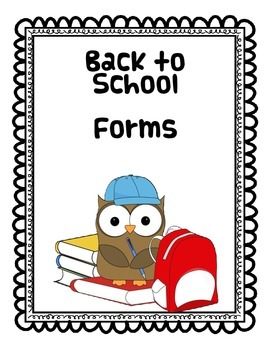 Owl Back to School Resources
