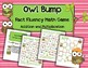Owl Bump Addition and Multiplication: Fact Fluency Game an