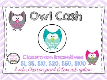Owl Cash: Classroom Money Incentives