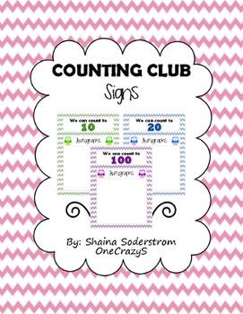Owl Chevron 10 Club - 20 Club - 100 Club Signs