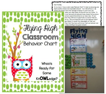 Owl Classroom Behvaior Chart