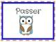 Owl Classroom Job Posters