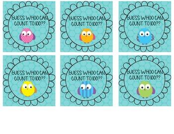 Owl Classroom Reward Stickers