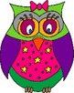 Owl Clipart Pack (Fantangle Designs Digital Clipart)