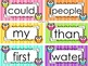 Owl Complete Fry Word Wall Set Grades K-3