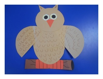 Owl Craftivity