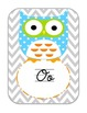 Owl Cursive Alphabet Edition