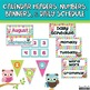 Classroom Decor Bundle with Owls, Chevron, Stripes and Polka Dots