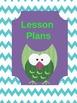 Owl Design Teacher Binder