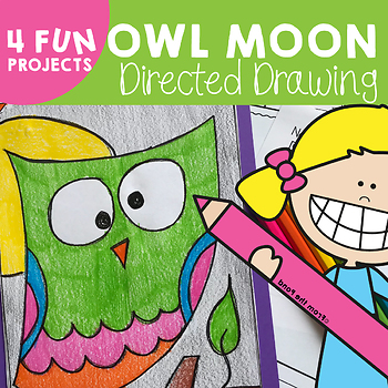 Owl Directed Drawing {Art Project}