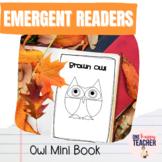 Owl Emergent Reader FREEBIE
