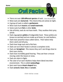 Owl Facts