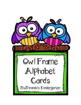 Owl Frame Word Wall