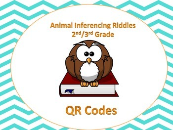 Owl Inferencing (animals) QR code activity (Common Core al