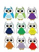 Owl Job Assignment Bulletin Board (Rainbow)