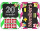 Owl Love Number Cards 0-20 {Chalkboard Style and apple Ten