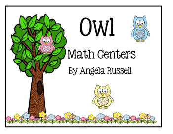 A Hands-On Math Center ~ Little Owls