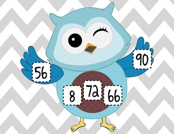 Owl Multiplication Black-Out Game!
