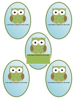 Owl Pencil Slip On