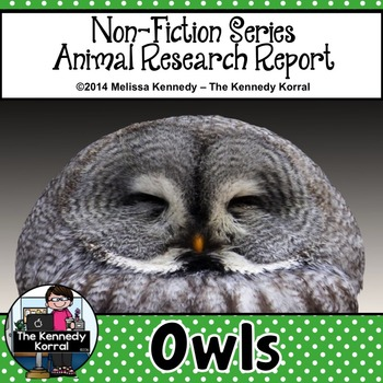 Owls {Nonfiction Animal Research Report}