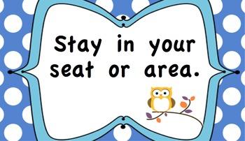 Owl Rule cards