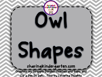 Owl Shape Posters