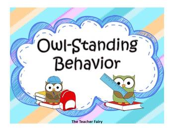 Owl-Standing Behavior Choices
