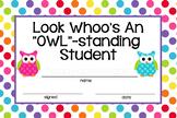 Owl Student Rewards