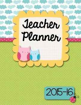 Owl Teacher Binder/Organizer