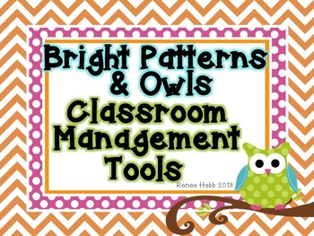 Owl Theme Classroom Management Tools