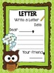 Owl Theme Writing Choice Board Pack (Aqua, Blue, Green, Brown)