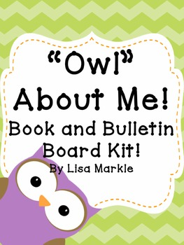 All About Me Book and Bulletin Board Kit for Preschool
