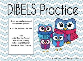 Owl Themed DIBELS Roll & Read