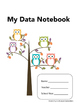 Owl Themed Data Notebook Covers