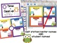 Owl Themed Math Stations - automated powerpoint for statio